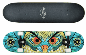WiiSHAM Skateboards Pro - girls complete skateboards