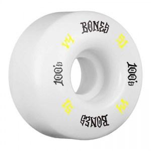 Bones 100's #12 White 51mm v4 – 399sek