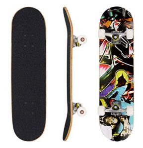 "Ancheer 31"" Pro Skateboard Complete"