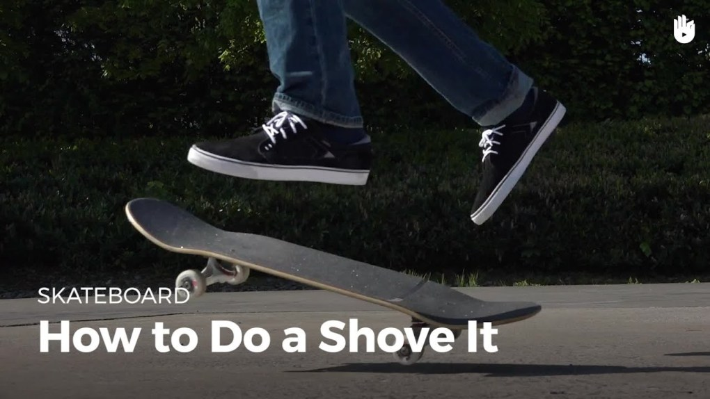 The pop shove-it or the backside pop shove-it is basically popping your skateboard