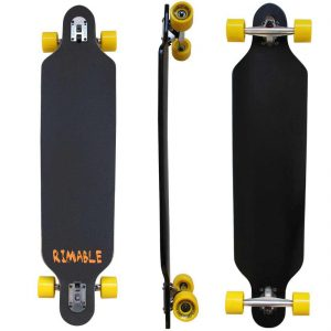 RIMABLE Drop-through Longboard (41-inch)_best longboards of 2018