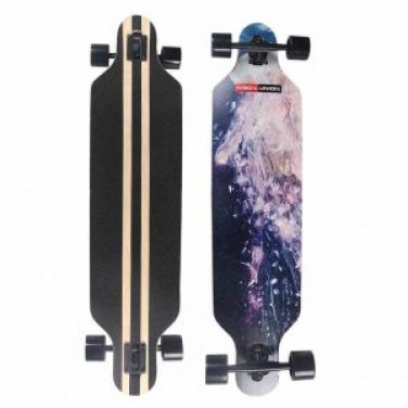 MAGIC UNION 41 Inch Maple Drop Down Longboard Complete Skateboard _best longboards in 2018