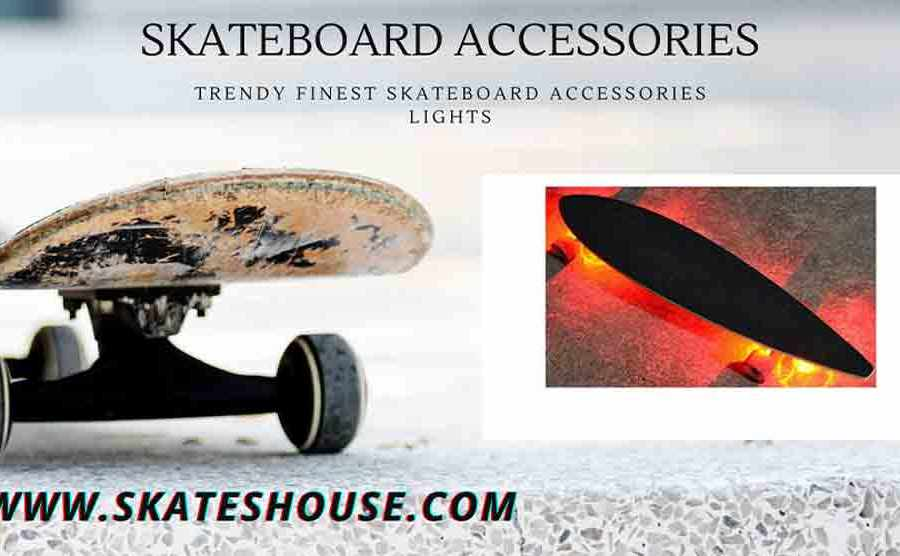 Trendy Finest Skateboard Accessories lights