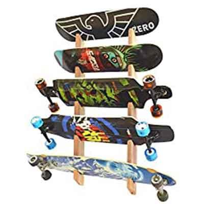 Pro Board Racks Longboard Wall Rack Mount
