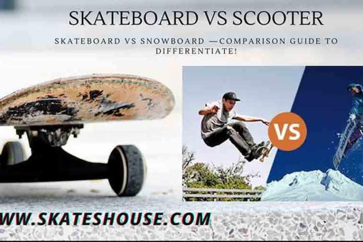 skateboard vs snowboard