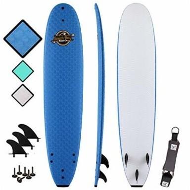 South Bay Board Co. Soft Top Foam Beginner Surfboard
