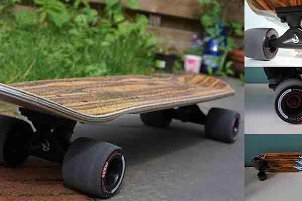 Longboard deck