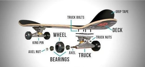 parts of longboards ,types of longboards