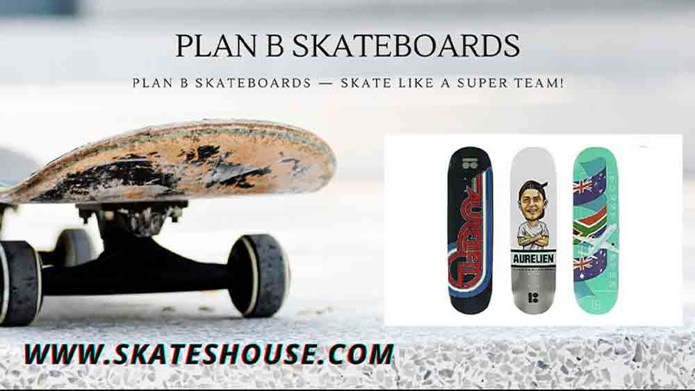 Plan B Skateboards have used 6-ply during construction, making these type skateboards much stronger & longer-lasting