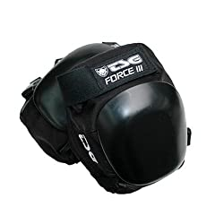 TSG Force III Skate Kneepads (Small, Black)
