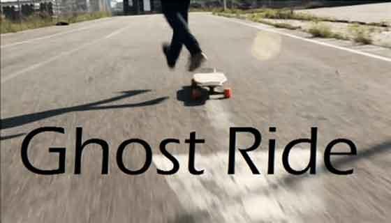 skateboard ghost ride