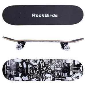 "RockBirds 31"" Complete Skateboard"