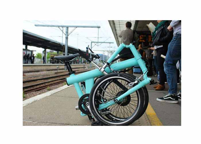 Light folding bike
