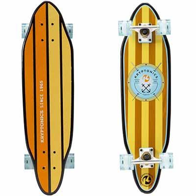 "Kryptonics 30"" Cutaway Cruiser Skateboard, Anchors"
