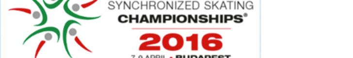 Campionato del mondo ISU Sincronizzato - Budapest 2016 #WSySbudapest