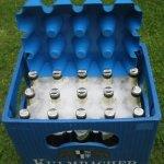 Bierkastenkühler als Eisüberzieher