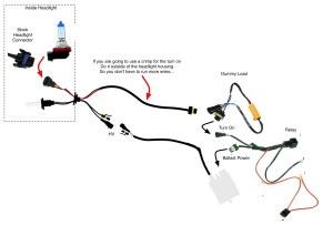 Volvo P1 HID Retrofit Issues  SKBOWE PWM filter