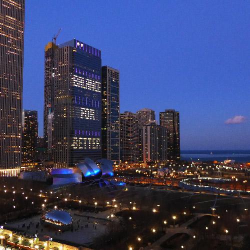 Chicago. Le loop de nuit.