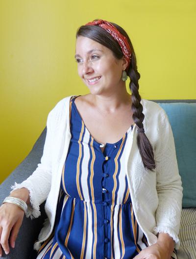 Portrait. Tiphaine Thomas. Architecte d'intérieur, décoratrice, créatrice du studio Skéa Designer.