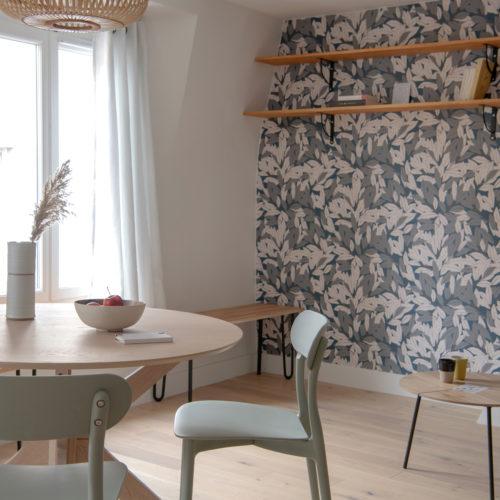 Réalisation du studio d'architecture et de décoration Skéa Designer. Laurier Blanc.