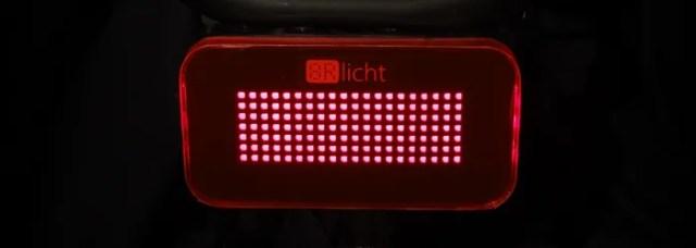 The 8Rlicht taillight