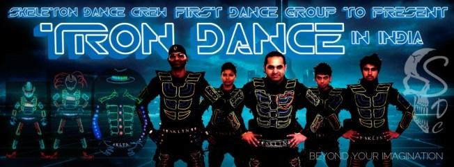Tron Led Dance Group India