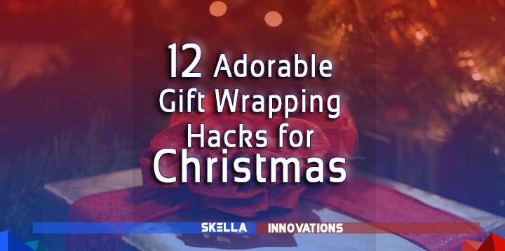 12 Adorable Gift Wrapping Ideas and Techniques for Christmas