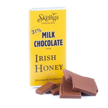 Skelligs Irish Honey Chocolate Bar