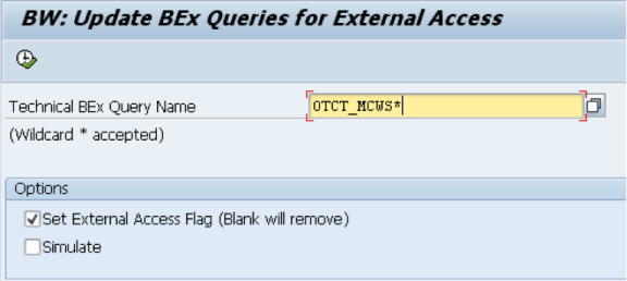 Sample query wildcard input - 0TCT_MCWS*