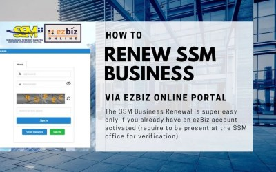 How to Renew SSM Business Online via ezBiz (Step-by-step with Pictures)