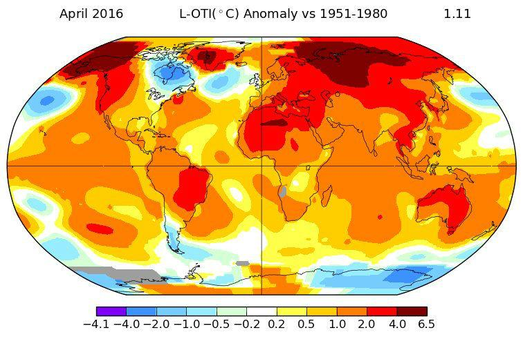 april climate change