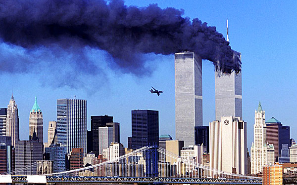 911 Twin Towers World Trade Center Plane 600