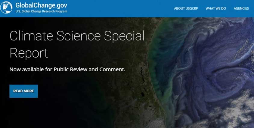 Climate Science Special Report formally approved – #Climate