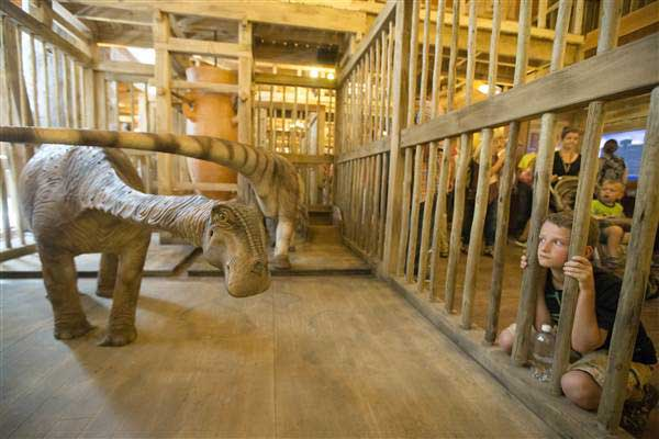 Noah's Ark in Kentucky waiting for a miracle – #ArkEncounter
