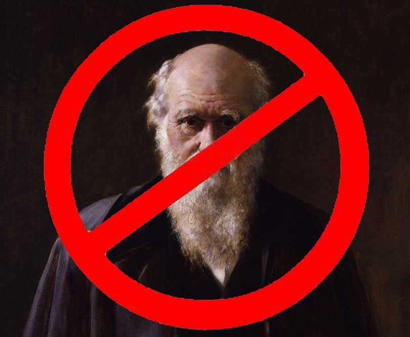 weird religious news - darwin banned in Turkish education