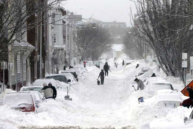 Will a Warming Arctic lead to more winter storms?
