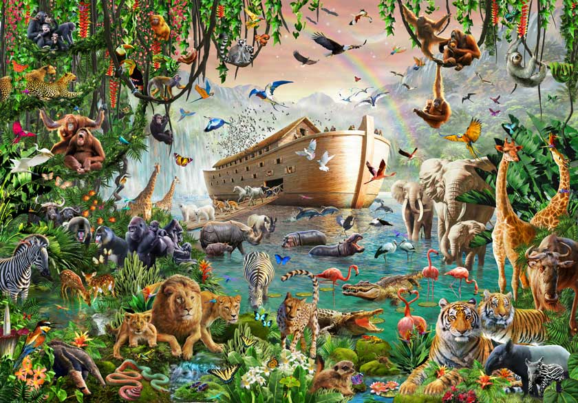 Did Noah's worldwide flood really happen?
