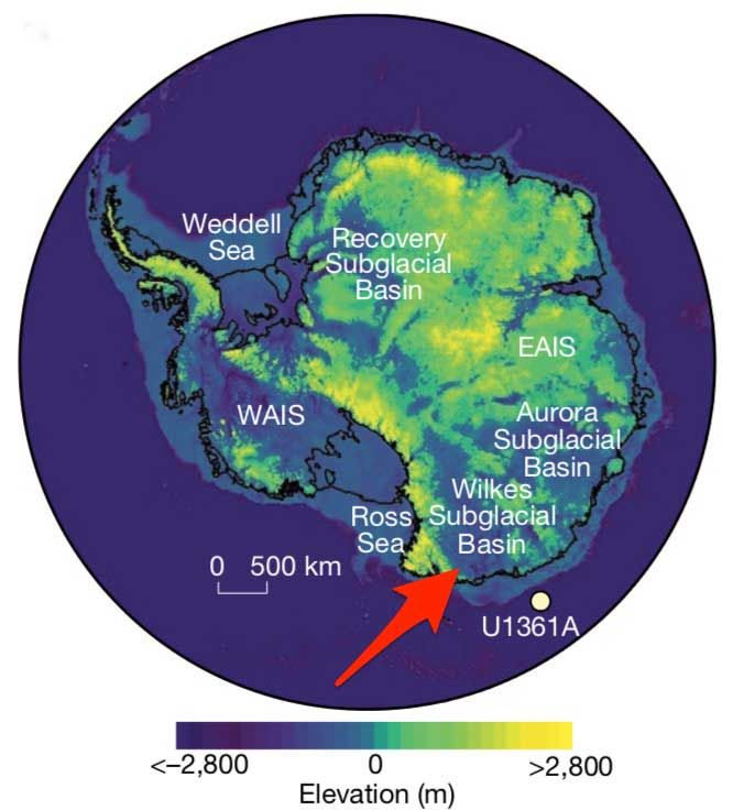New Study: Moderate warming will lead to huge increases in Sea level