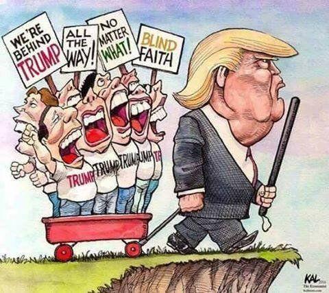 weird religious news - faith in trump