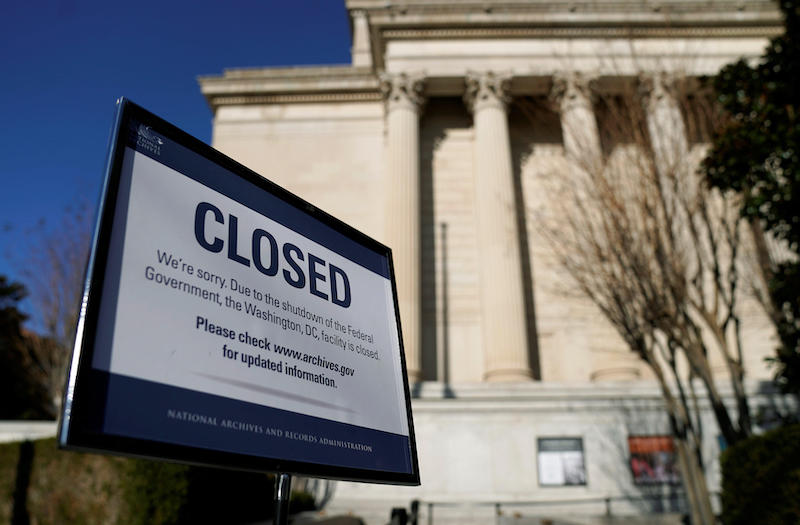 Shutdown: The Impact upon science