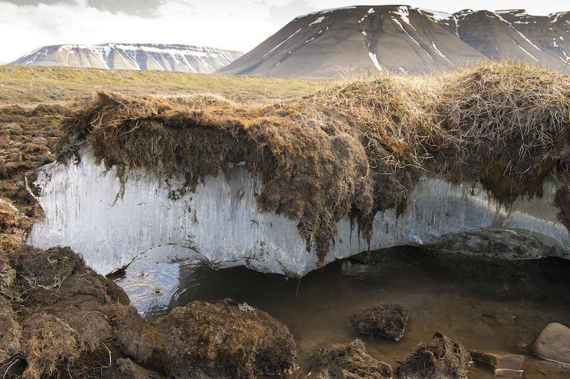 Permafrost Study reveals a warming trend