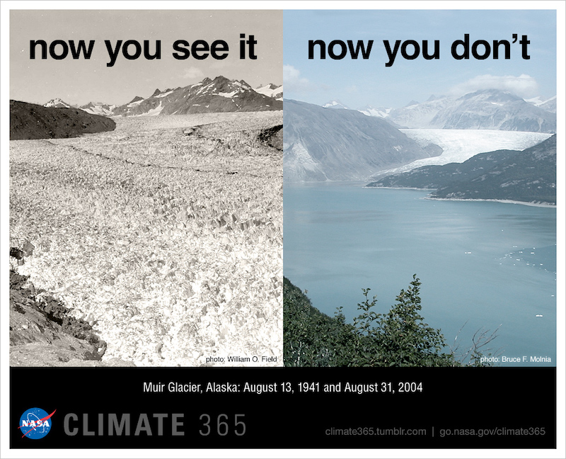 90% of Glaciers will be gone by 2100