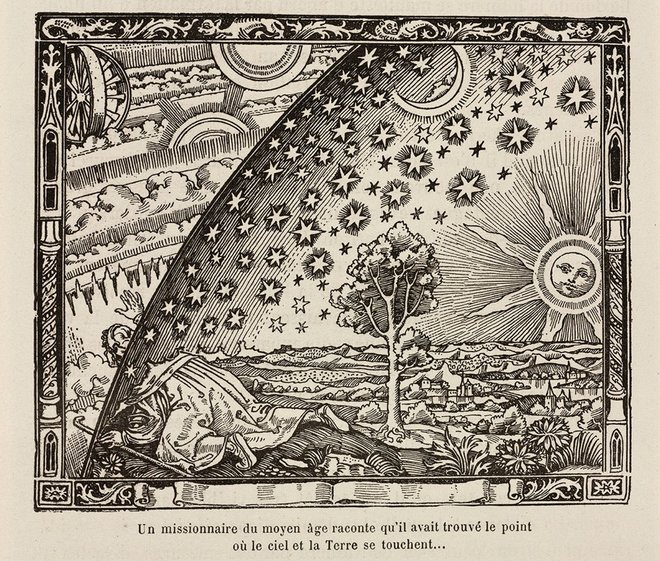 flat earth vs creationism
