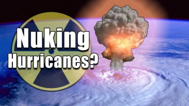 Nuke a Hurricane