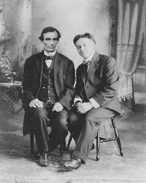 Harry Houdini and Abraham Lincoln