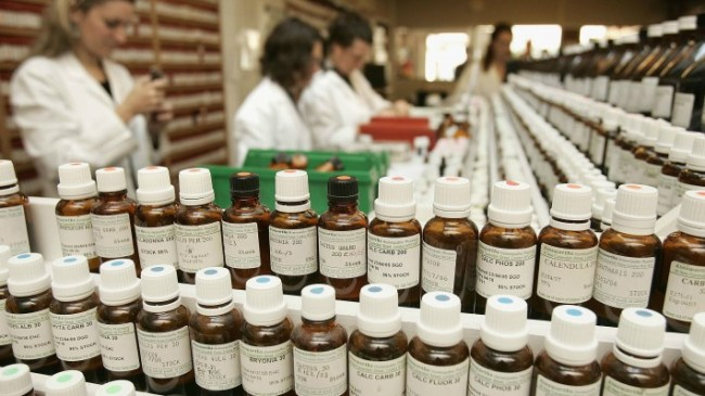 homeopathy and other quackery endorsed by PSA