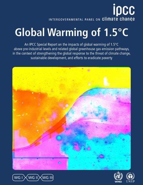 IPCC 1.5 special report