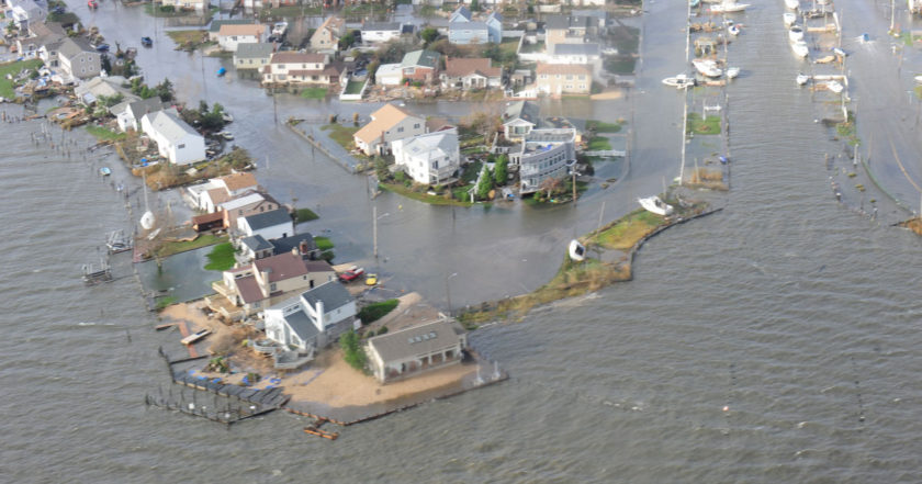 sea level rise will lead to greatly increased costal flooding events