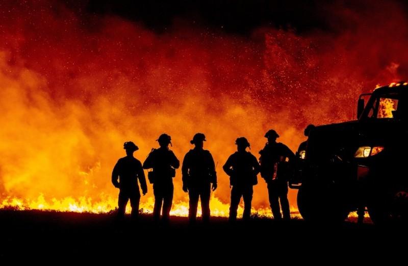 vaccine uptake amongst firefighters