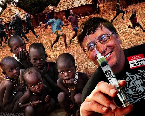 Bill Gates Vaccinations In Africa Antivaccine Hatred